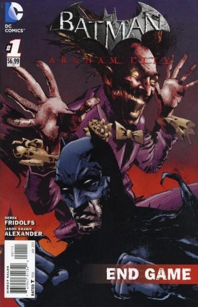 BATMAN: ARKHAM CITY ENDGAME (2012) #1 VF/NM