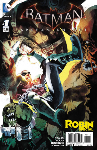 BATMAN: ARKHAM KNIGHT: ROBIN SPECIAL (2015) #1 VF/NM ONE-SHOT