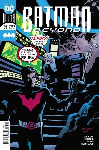 Batman Beyond (2016) #35 VF/NM Chris Samnee Cover DC Universe