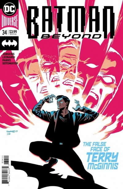 Batman Beyond (2016) #34 VF/NM Chris Samnee Cover DC Universe