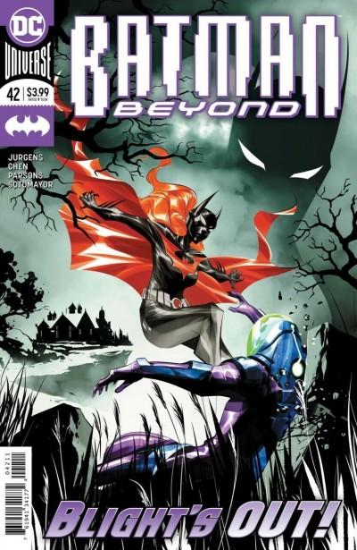 Batman Beyond (2016) #42 NM (9.4) Dustin Nguyen Regular Cover A