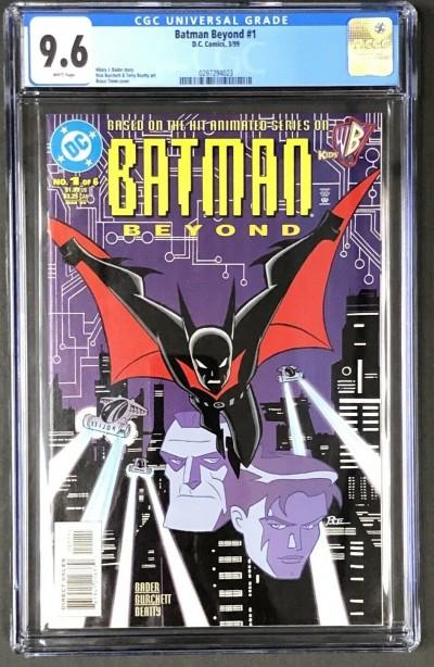 Batman Beyond (1999) #1 CGC 9.6 1st app (0297294023)