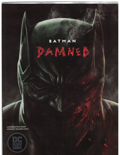 Batman Damned (2018) #1 NM (9.4) Advanced Readers Copy Lee Bermejo Cover & art
