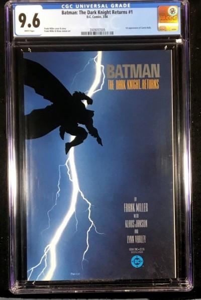 Batman Dark Knight Returns (1986) #1 2 3 4 CGC 9.6 9.4 9.8 9.8 set (2009097009)