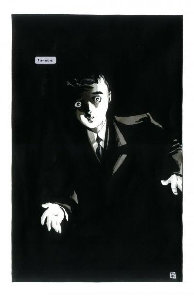 Batman Dark Victory (1999) #1 Pg 1 Bruce Wayne Tim Sale Original Splash Page Art