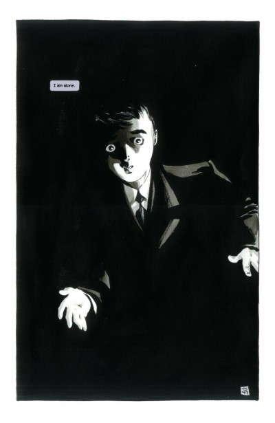 Batman: Dark Victory #1 Pg 1 Kid Bruce Wayne Tim Sale Original Splash Page Art