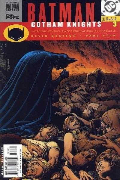 BATMAN: GOTHAM KNIGHTS (2000) #3 VF/NM PAUL POPE BRIAN BOLLAND