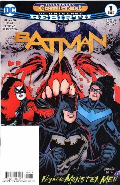 Batman Halloween Comic Fest Special Edition (2017) #1 VF/NM