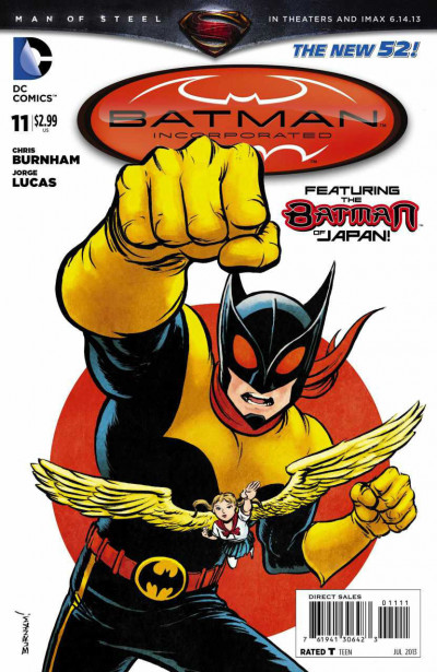 BATMAN INCORPORATED (2012) VOLUME 2 #11 VF/NM THE NEW 52!