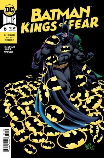 Batman: Kings of Fear (2018) #'s 1 2 3 4 5 6 Complete VF/NM Set Kelley Jones