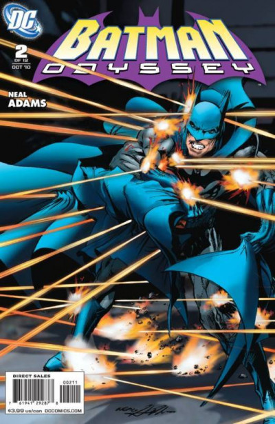 BATMAN ODYSSEY (2010) #2 OF 6 VF/NM NEAL ADAMS