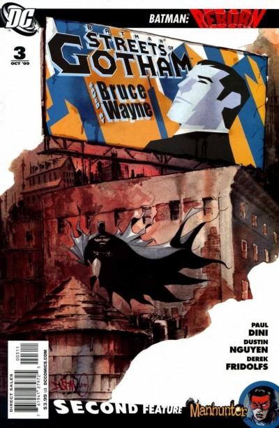 BATMAN STREETS OF GOTHAM (2009) #3 VF/NM