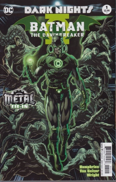 Batman: The Dawnbreaker (2017) #1 VF/NM 2nd Printing Metal Tie-In