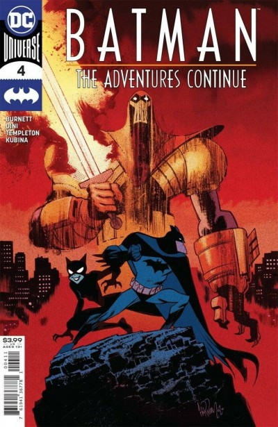 Batman: The Adventures Continue (2020) #4 VF/NM James Harren Cover