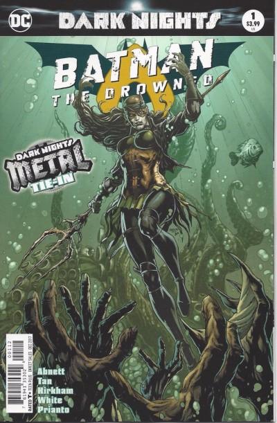 Batman: The Drowned (2017) #1 VF/NM 2nd Printing Metal Tie-In