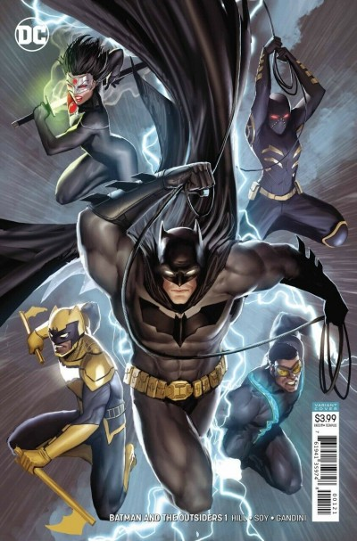 Batman & the Outsiders (2019) #1 VF/NM-NM Stjepan Šejić Variant Cover