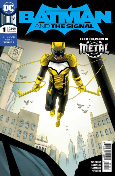 Batman & the Signal (2018) #1 VF/NM Declan Shalvey Variant Cover