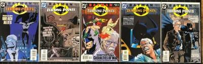 Batman Turning Points (2001) #1-5 NM (9.4) Complete set Greg Rucka Steve Lieber