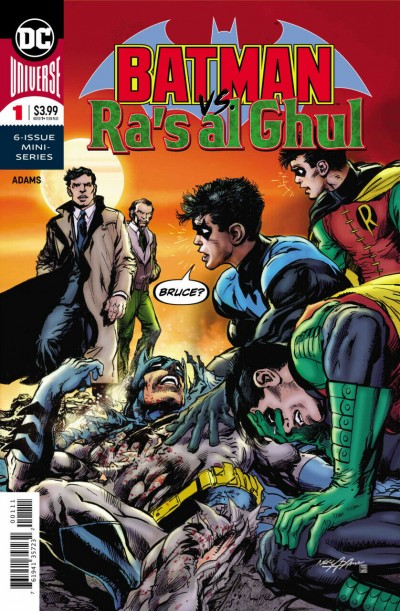 Batman vs. Ra's Al Ghul (2019) #1 of 6 VF/NM Neal Adams Cover Art Story