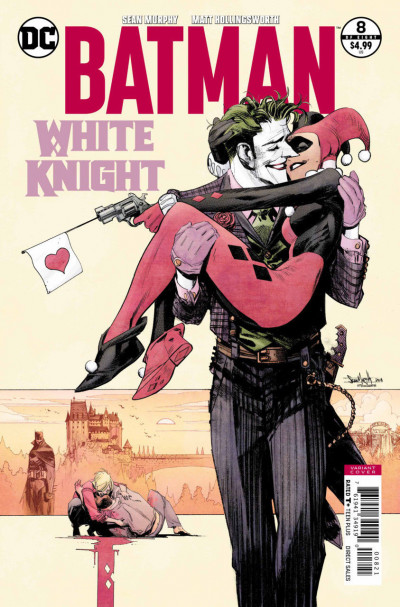 Batman: White Knight (2017) #8 VF/NM Sean Murphy Variant