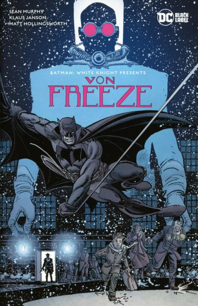 Batman: White Knight Presents Von Freeze (2019) #1 VF/NM-NM Klaus Janson Cover