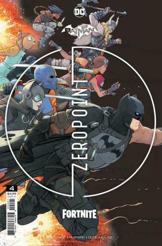 Batman/Fortnite (2021) #4 Second Printing Cover Sealed Deathstroke Glider Code