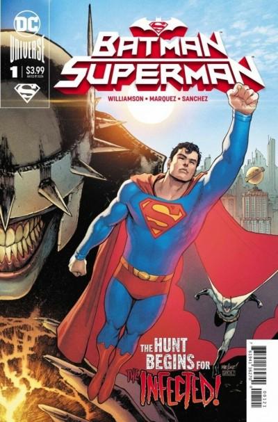 Batman/Superman (2019) #1 VF/NM David Marquez Cover B (Superman, Right Side)