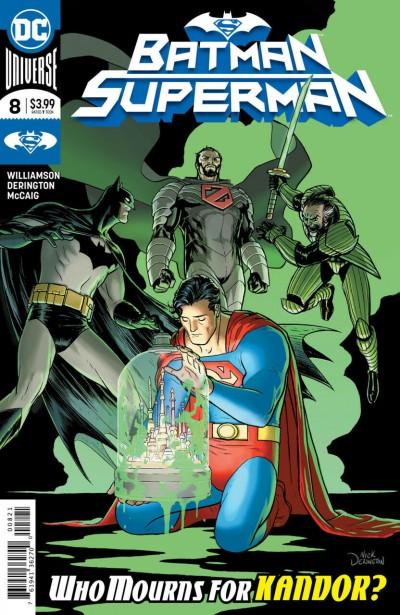 Batman/Superman (2019) #8 NM (9.4) Nick Derington Regular Cover A