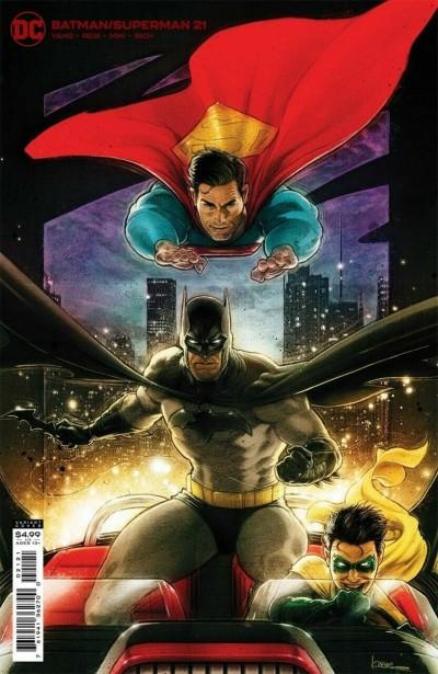 Batman/Superman (2019) #21 VF/NM Kaare Kyle Andrews Variant Cover