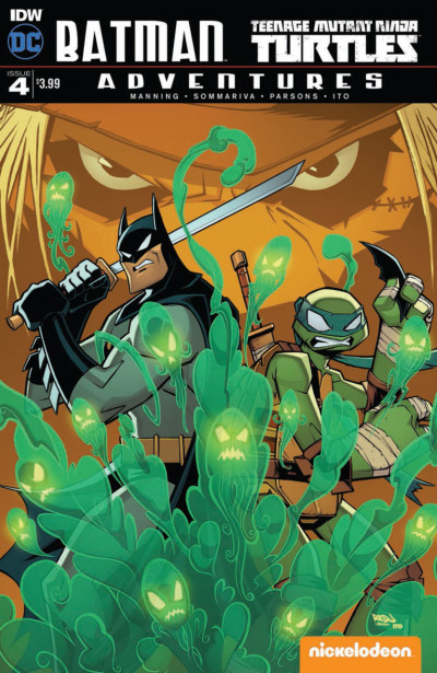 Batman/Teenage Mutant Ninja Turtles Adventure (2016) #3 VF/NM DC IDW