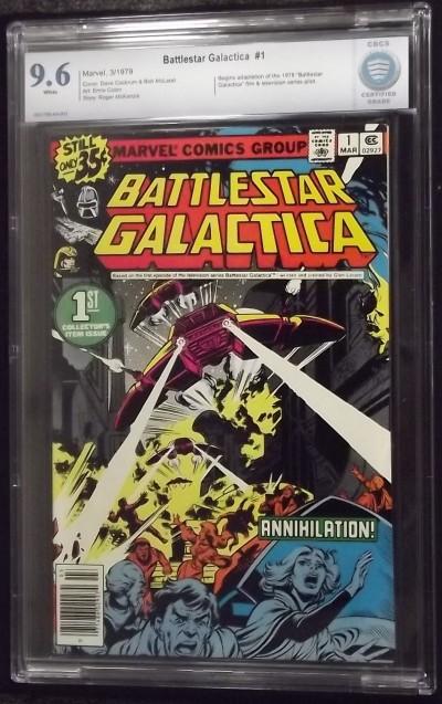 BATTLESTAR GALACTICA (1979)  #1 CBCS 9.6 GRADED MARVEL NOT CGC