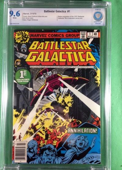 Battlestar Galactica (1979) #1 CBCS graded 9.6