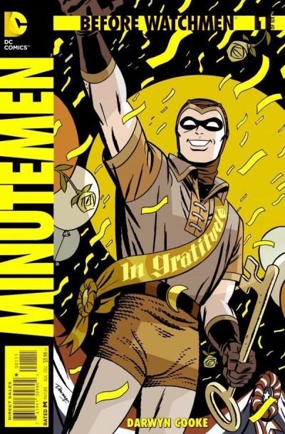 BEFORE WATCHMEN: MINUTEMEN #1 OF 6 NM DC COMICS DARWYN COOKE