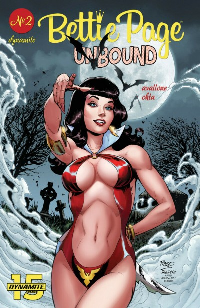 Bettie Page: Unbound (2019) #2 John Royle Cover A Dynamite