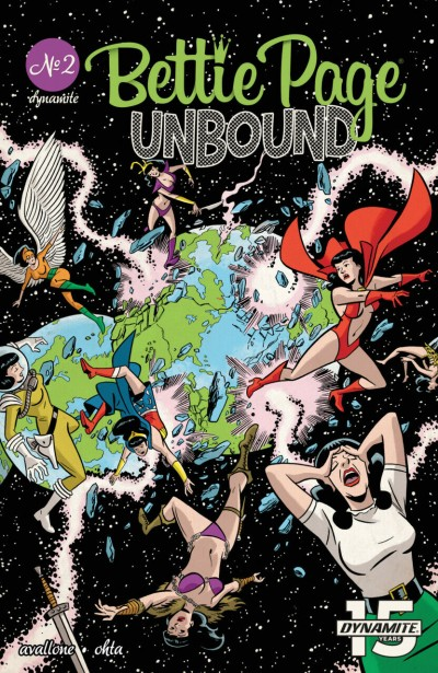 Bettie Page: Unbound (2019) #2 VF/NM Crisis on Infinite Earths #1 Cover Swipe