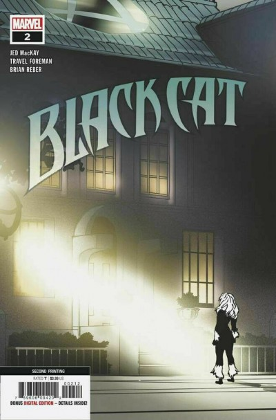 Black Cat (2019) #2 VF/NM 2nd Printing The Exorcist Movie Variant Cover