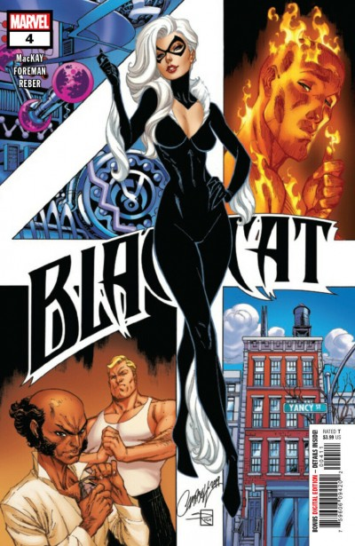Black Cat (2019) #4 VF/NM J. Scott Campbell Cover