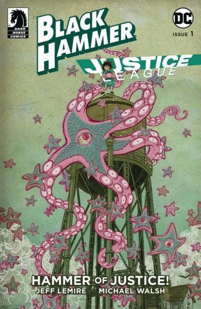 Black Hammer Justice League (2019) #1 NM (9.4) Jeff Lemire cover D