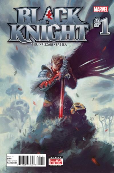 BLACK KNIGHT (2015)  #1 VF/NM