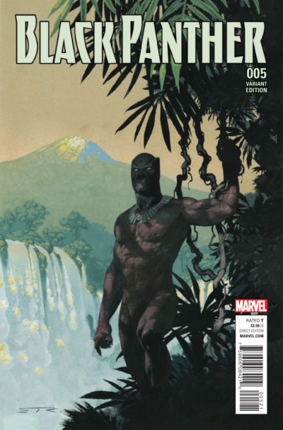 Black Panther (2016) #5 VF/NM Esad Ribic Connecting Variant Cover A