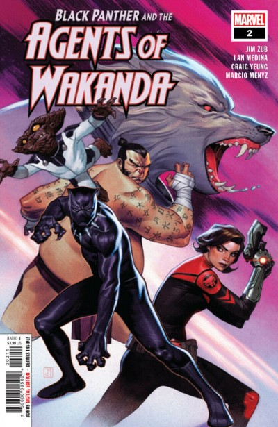 Black Panther and the Agents of Wakanda (2019) #2 VF/NM