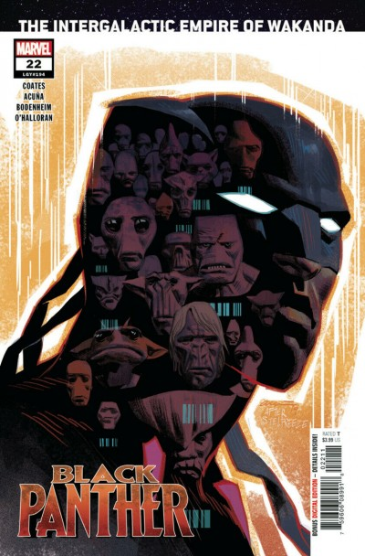 Black Panther (2018) #22 (#194) NM (9.4) Daniel Acuña Regular Cover A