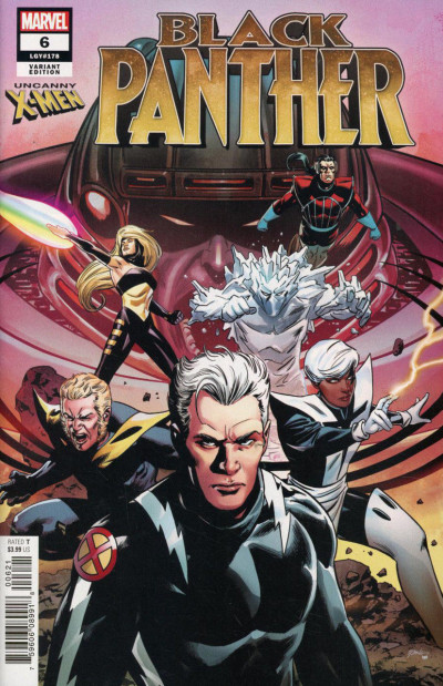Black Panther (2018) #6 (#178) VF/NM Steve Epting Uncanny X-Men Variant Cover