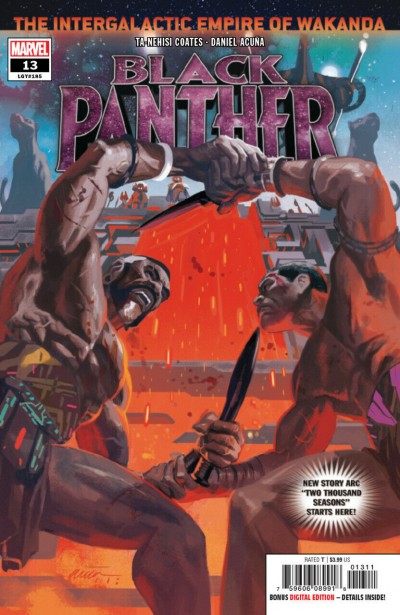 Black Panther (2018) #13 (#185) VF/NM Daniel Acuña Cover