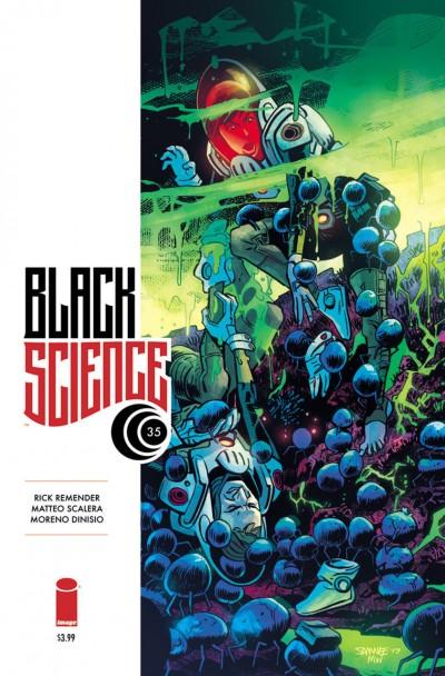 Black Science #35 VF/NM Rick Remender Chris Samnee Cover Image Comics