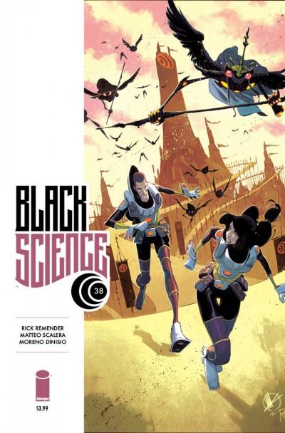 Black Science (2013) #38 VF/NM Rick Remender Image Comics