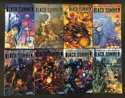 Black Summer (2007) #'s 0 1 2 3 4 5 6 7 Complete Set VF/NM Warren Ellis Avatar