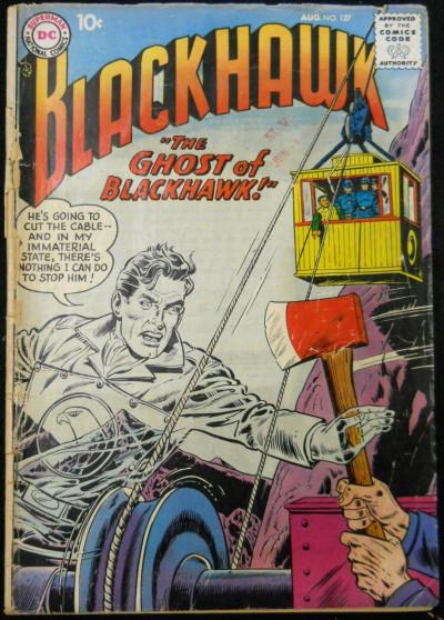 BLACKHAWK #127 GD-