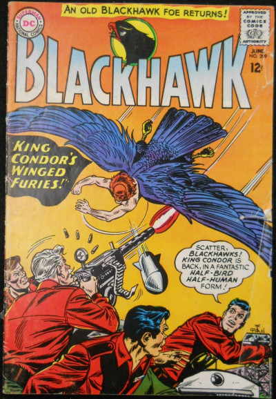 BLACKHAWK #209 VG-