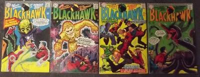 BLACKHAWK #'s 221-273 COMPLETE RUN OF 53 CONSECUTIVE BOOKS 1966-1984